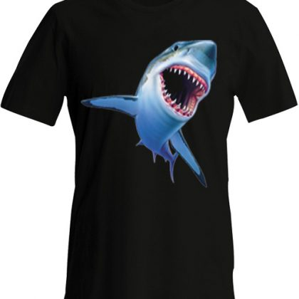 Haai 3D Tshirt