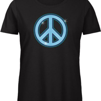Neon vredesteken shirt