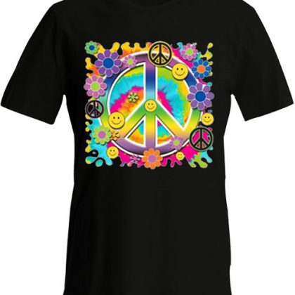 Peace smiley t-shirt