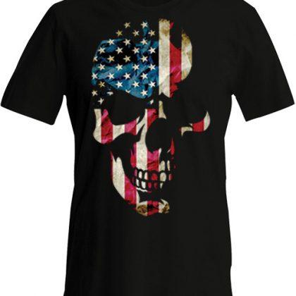 american-skull tshirt