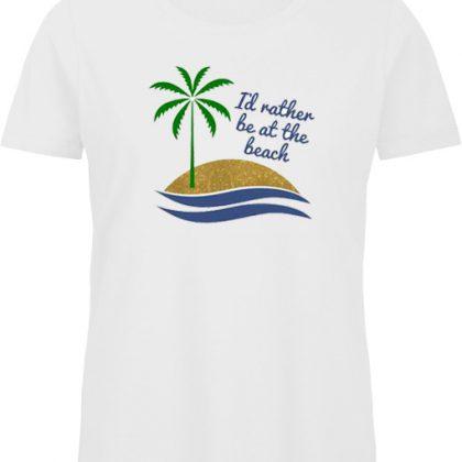 at the beach shirt