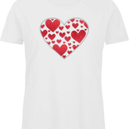 lots of hearts shirt
