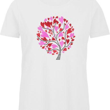 tree of hearts shirt