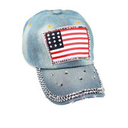 Jeans USA bling cap