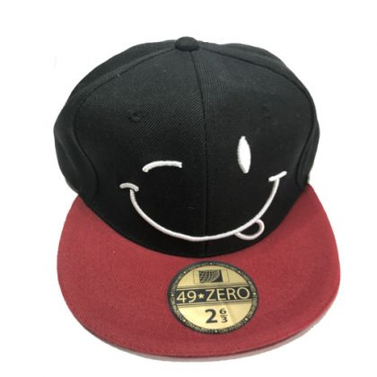 Knipoog Smiley cap