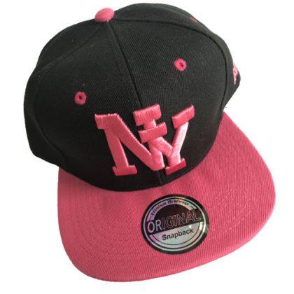 NY snapback cap