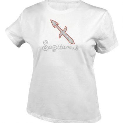 boogschutter sterrenbeeld shirt wit
