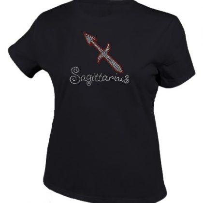 boogschutter sterrenbeeld shirt zwart