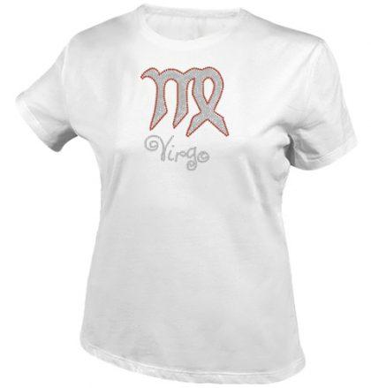 maagd sterrenbeeld shirt wit