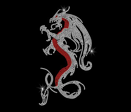 Chinese draak shirt