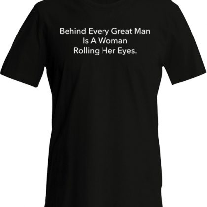 achter elke grote man shirt