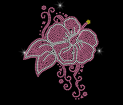 hibiscus love shirt