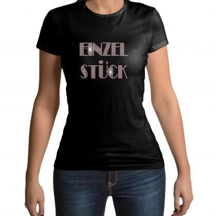 Einzelstück shirt zwart